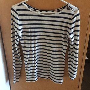 Long sleeve striped shirt from the loft